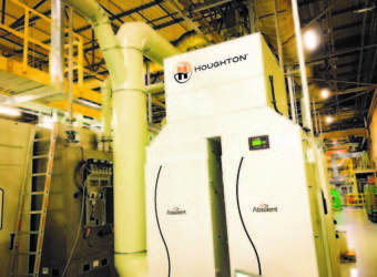 Photograph of Absolent A.mist Extraction System